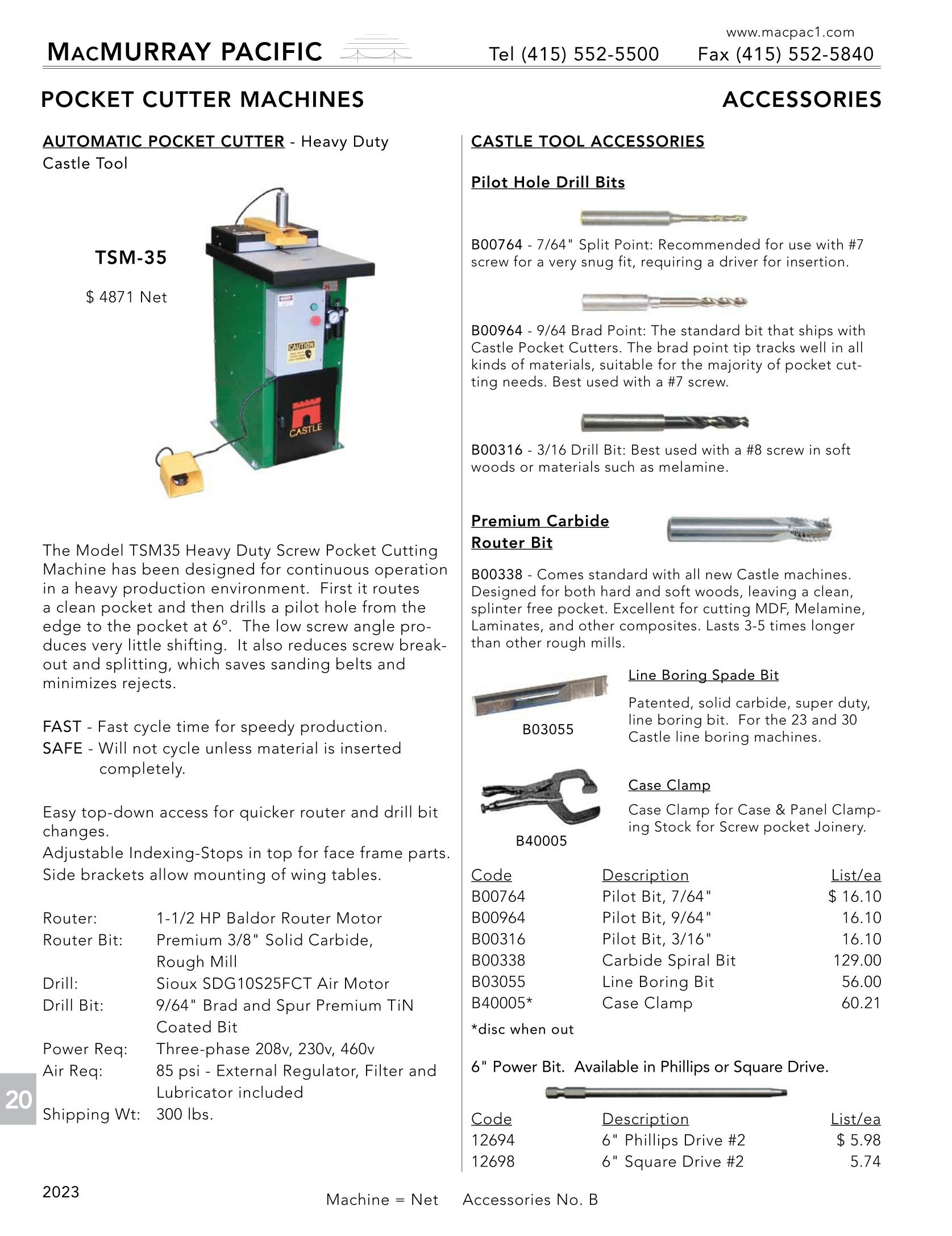 MacMurray Pacific Wholesale Hardware